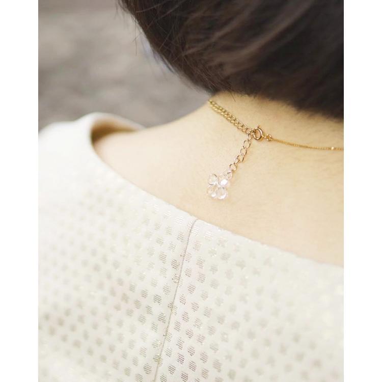 ネックレス  シロツメクサ|lwf-odaka|02
