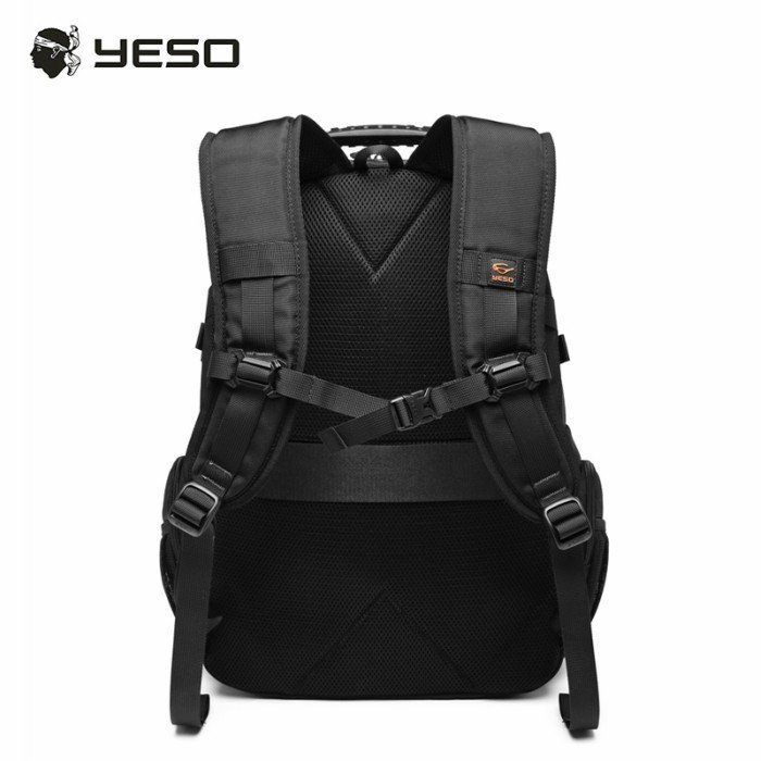 リュック  ビジネスリュック  リュックサック メンズ  デイパック  メンズバッグ 通学    通勤 旅行  防災 バッグ 大容量 黒 YESO 32L Y12060 送料無料|lwinbag|13