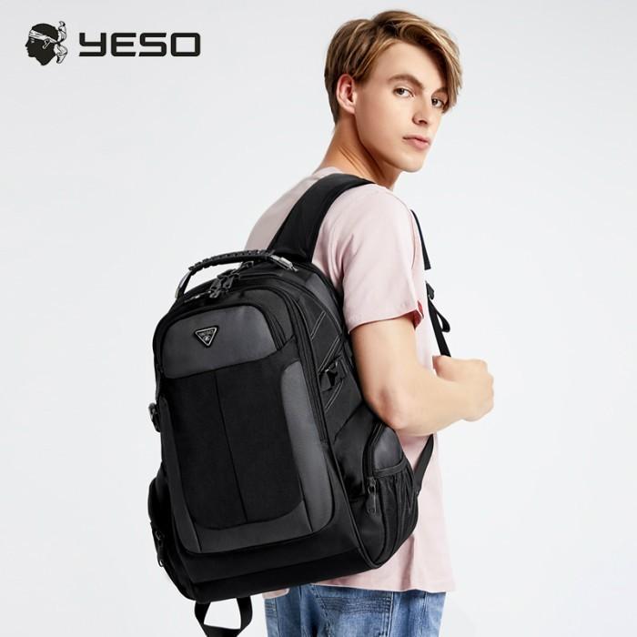 リュック  ビジネスリュック  リュックサック メンズ  デイパック  メンズバッグ 通学    通勤 旅行  防災 バッグ 大容量 黒 YESO 32L Y12060 送料無料|lwinbag|04