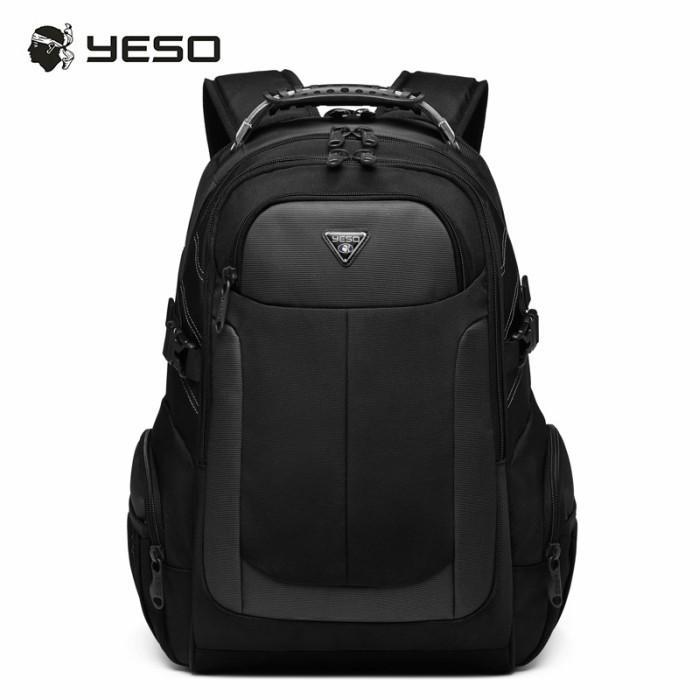 リュック  ビジネスリュック  リュックサック メンズ  デイパック  メンズバッグ 通学    通勤 旅行  防災 バッグ 大容量 黒 YESO 32L Y12060 送料無料|lwinbag|07