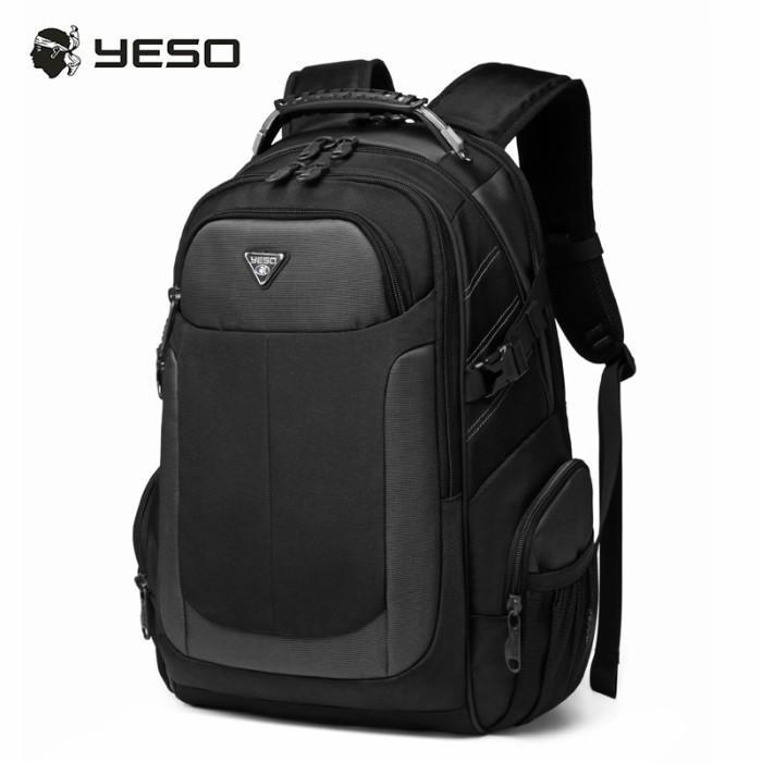 リュック  ビジネスリュック  リュックサック メンズ  デイパック  メンズバッグ 通学    通勤 旅行  防災 バッグ 大容量 黒 YESO 32L Y12060 送料無料|lwinbag|08