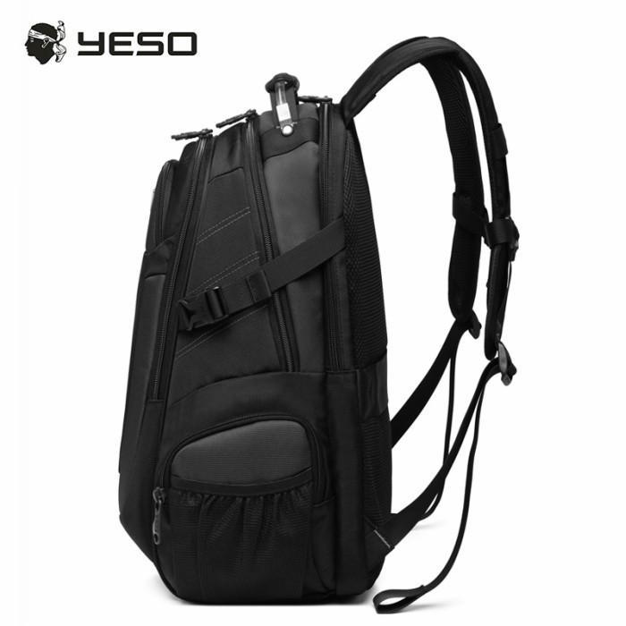 リュック  ビジネスリュック  リュックサック メンズ  デイパック  メンズバッグ 通学    通勤 旅行  防災 バッグ 大容量 黒 YESO 32L Y12060 送料無料|lwinbag|09