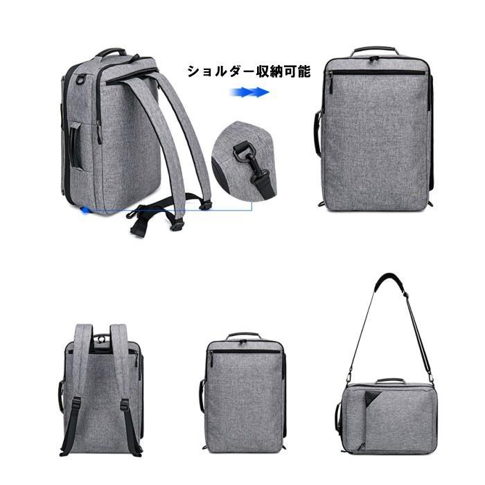 ビジネスリュック  3way ビジネスバッグ ブリーフケース リュックサック  大容量 バックパック カバン 鞄 バッグ メンズ  軽量  出張  A4  YESO 父の日 送料無料|lwinbag|02