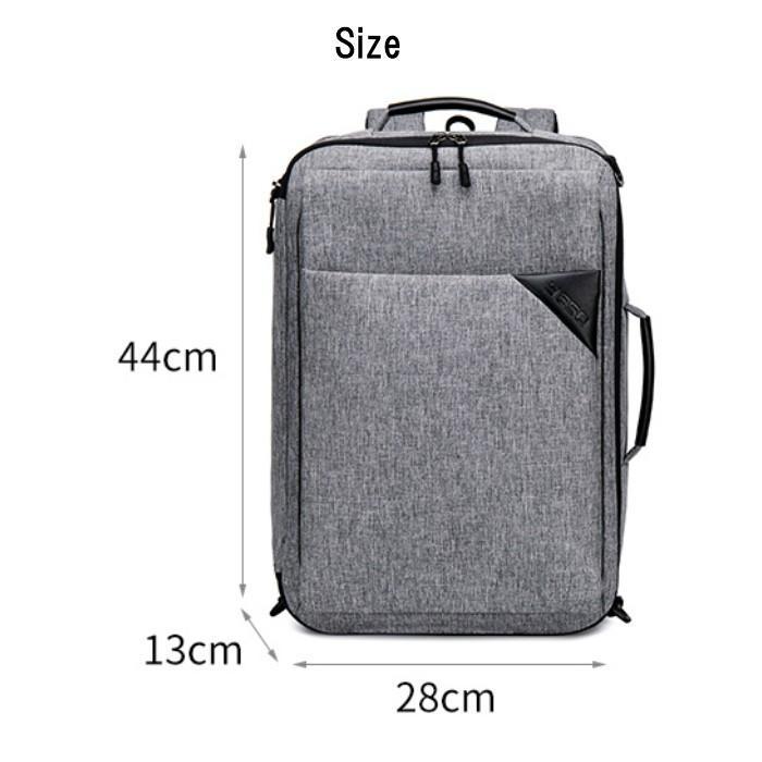 ビジネスリュック  3way ビジネスバッグ ブリーフケース リュックサック  大容量 バックパック カバン 鞄 バッグ メンズ  軽量  出張  A4  YESO 父の日 送料無料|lwinbag|03