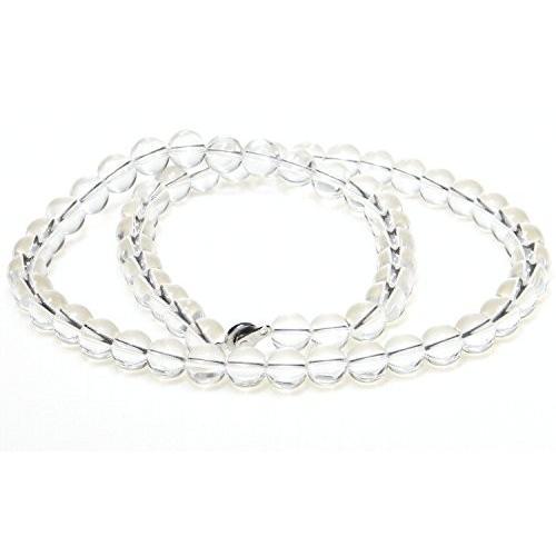 人気特価 AAAグレード 美しい 水晶 ネックレス 直径10mm/ 60cm, 子供靴&インポートウェアFabrica 8fa010cf
