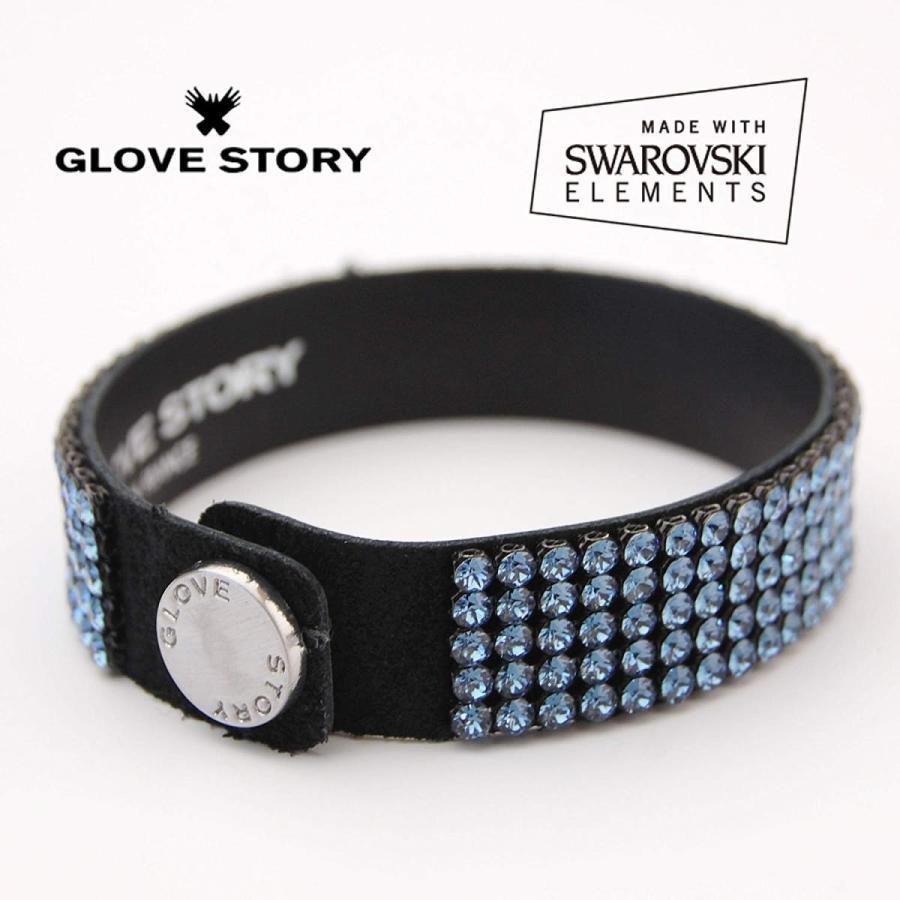 新品同様 GloveStory グローブストーリー ブレスレット スワロフスキーエレメンツの輝かしい煌めきで簡単にドレスアップ BR015, 新鮮雑貨マーケット 4a72e5e1