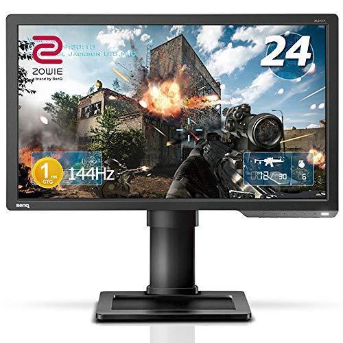 BenQ ゲーミングモニター 24インチ 144Hz 1ms ブルーライト軽減 ZOWIE XL2411P フルHD HDMI Displa