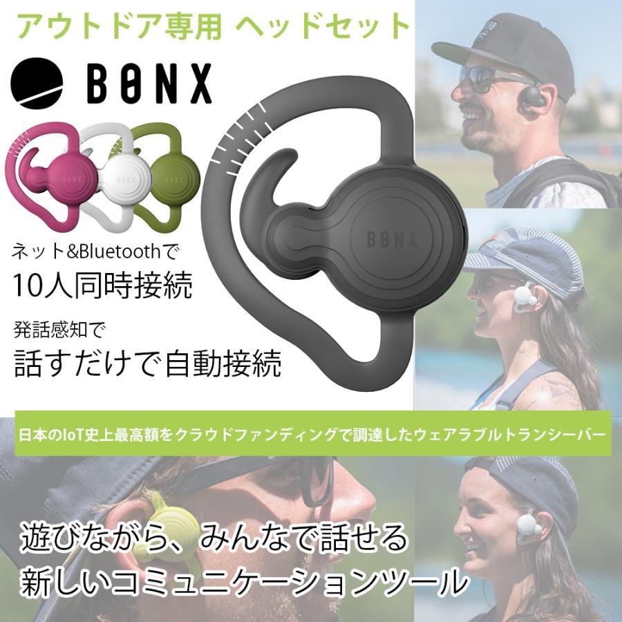 【送料無料】10人同時接続 距離無制限 遊びながら話せる エクストリームコミュニケーションギア BONX Grip アウトドア ヘッドセット m-and-agency