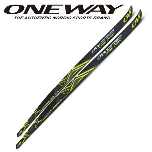 人気新品 180cm〜204cm ONEWAY ワンウェイスポーツ クロスカントリー スキー板 OWグリップスキー スキンスキー 歩くスキー ow40103, 旭町 c8bc7851
