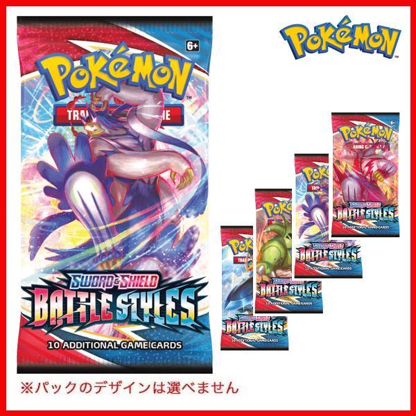 日本製 ポケモンカードゲーム 特価キャンペーン ソードamp;シールドブースターパック 1パック STYLES BATTLE 海外版