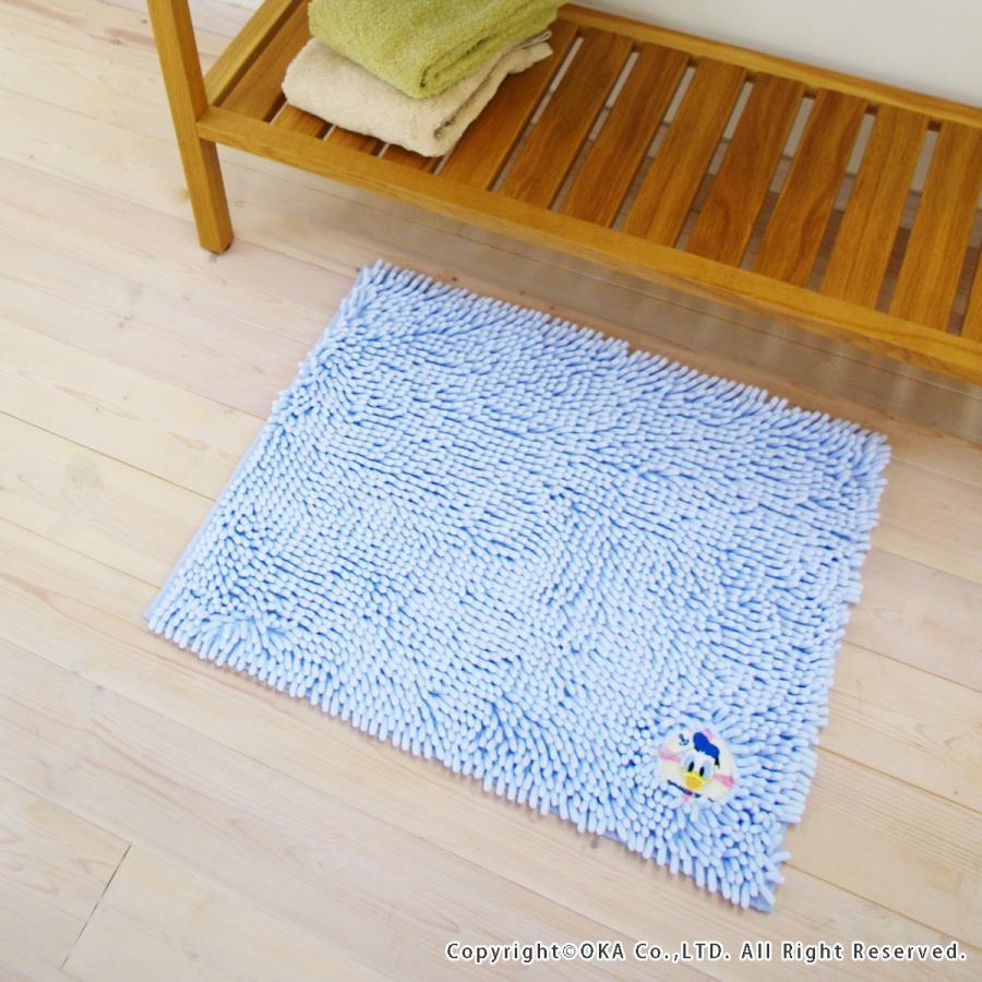 バスマット モール マット ディズニー モールバスマット 約45×60cm マイクロファイバー ディズニー ミッキー ミニー くまのプー disney  オカ m-rug 03