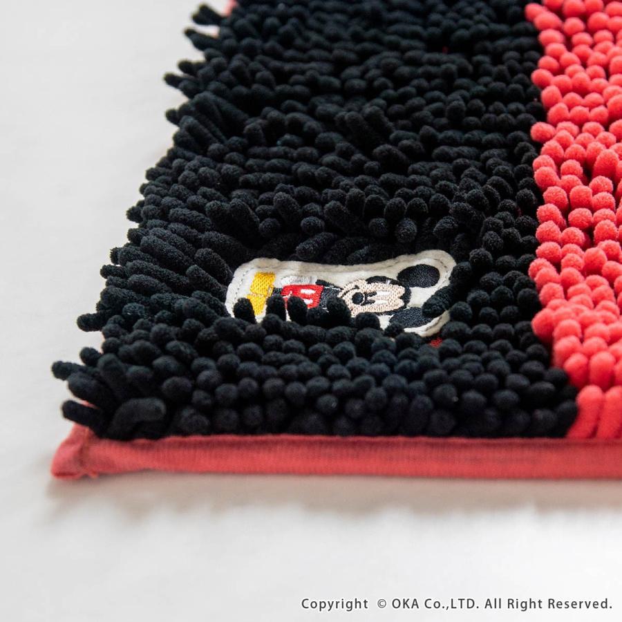 バスマット モールバスマット ディズニー フィッツ 約45×60cm マイクロファイバー ディズニー ミッキー ミニー くまのプー ドナルドダック disney オカ|m-rug|15