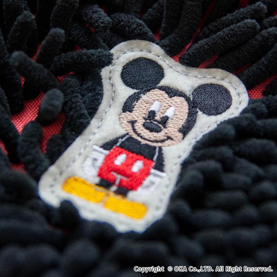 バスマット モールバスマット ディズニー フィッツ 約45×60cm マイクロファイバー ディズニー ミッキー ミニー くまのプー ドナルドダック disney オカ|m-rug|04