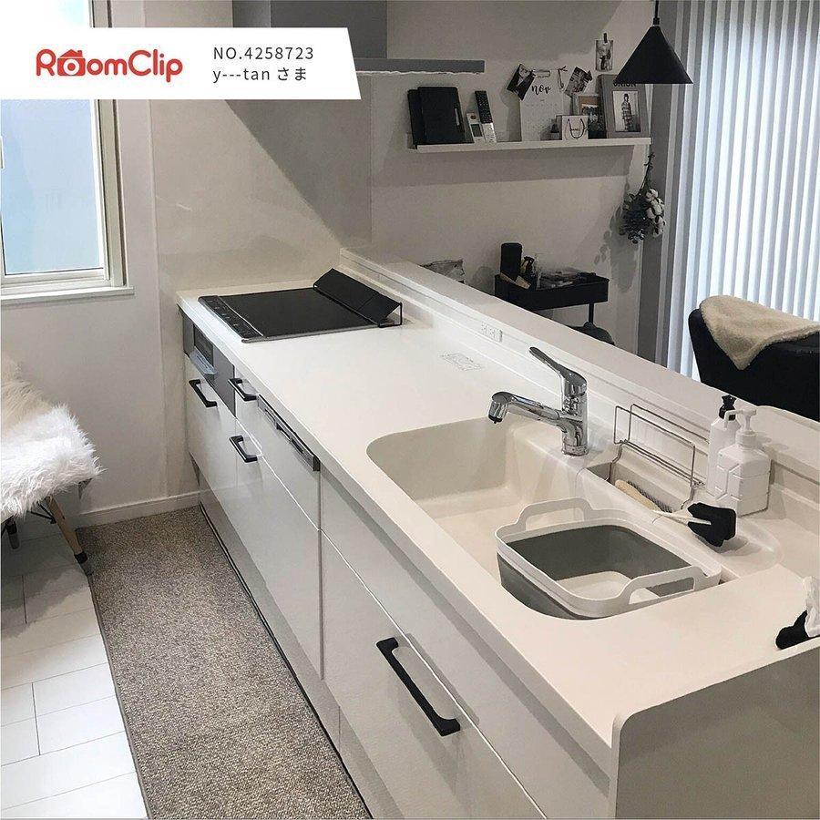 キッチンマット PLYS base (プリスベイス) キッチンマット 約45×240cm  (無地 モダン おしゃれ 洗える 日本製 やわらかい あたたかい 滑り止め 布製 シンプル)|m-rug|13