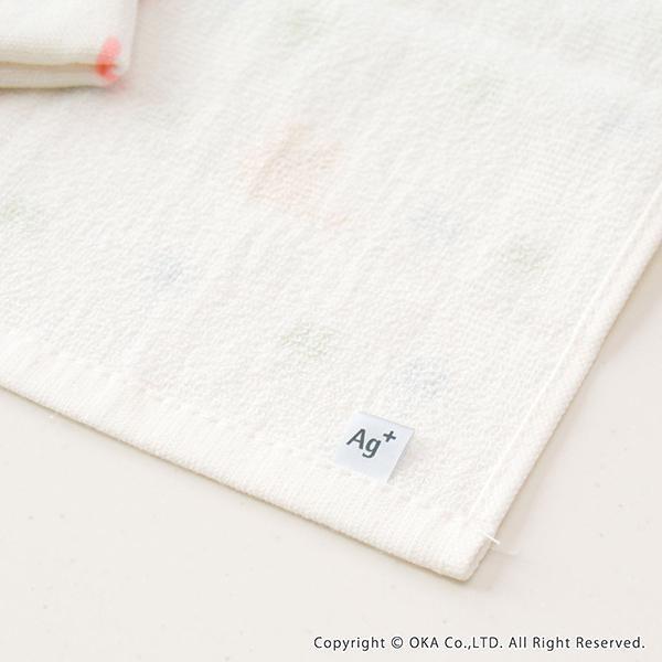 ふきん Ag+ エージープラス  イヤなニオイのしない かわいいふきん 1枚入 ガーゼ タオル 防臭 抗菌 銀イオン におわない ねこ おしぼり 布巾  オカ|m-rug|12
