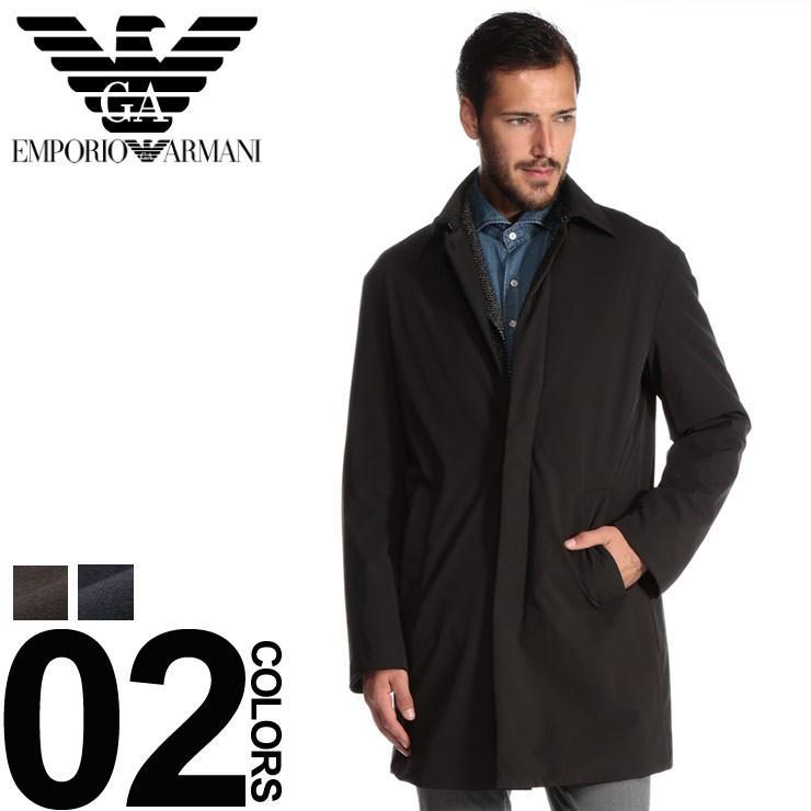 buy online ed1d8 43ec2 EMPORIO ARMANI (エンポリオ アルマーニ) ナイロン 中綿 ステンカラー コート EA6Z1L731NWFZ  :7537214679:メンズショップサカゼン - 通販 - Yahoo!ショッピング