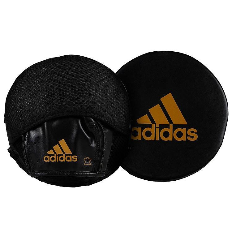 adidas パンチングミット FLX 3.0 ディスク 本革 ADISDPM01 //アディダス コンビネーション ミット ボクシング キックボクシング スパーリング
