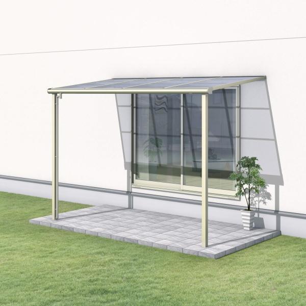 三協テラス レボリューA F型 標準納まり 関東間:2.5間x出幅6尺 (大型商品にて発送不可のため、近畿圏のみの販売商品です。)