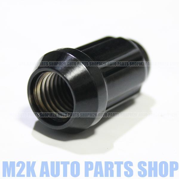 ロックナット M14x1.5 ホイールナット スリット スチール ナット 1個 17HEX 19HEX 21HEX P1.5 60°テーパー 袋ナット アルファロック|m2k|03