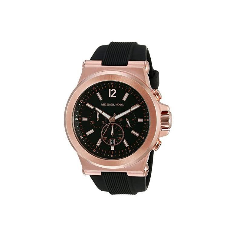格安販売の マイケル Goldu002FBlack コース Michael Kors Watches MK8184 Dylan Watches レディース 腕時計 MK8184 時計 ファッションウォッチ Rose Goldu002FBlack, FLATOUT:cdd9cf90 --- airmodconsu.dominiotemporario.com