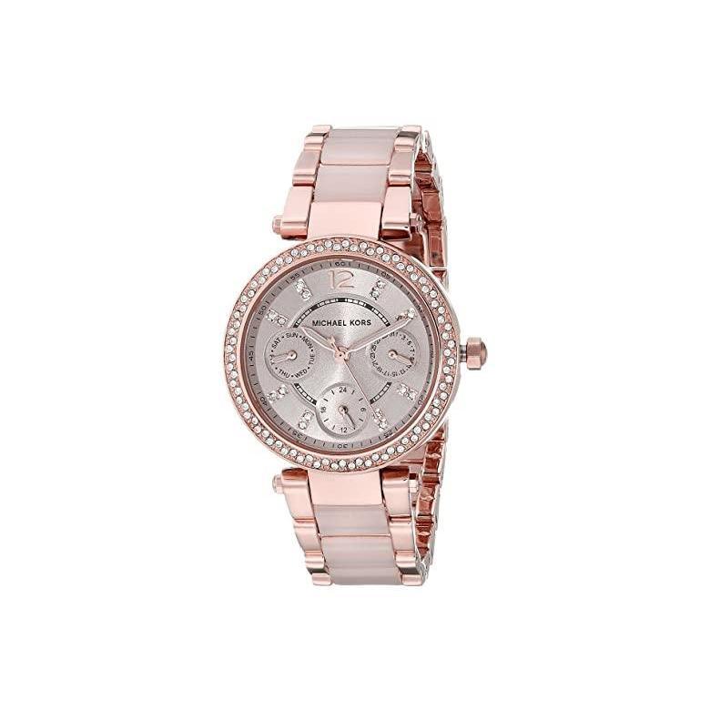 【即納&大特価】 マイケル コース Michael Kors MK6110 - Mini Parker レディース 腕時計 時計 ファッションウォッチ Rose Goldu002FBlush, nabika 5318bf2f