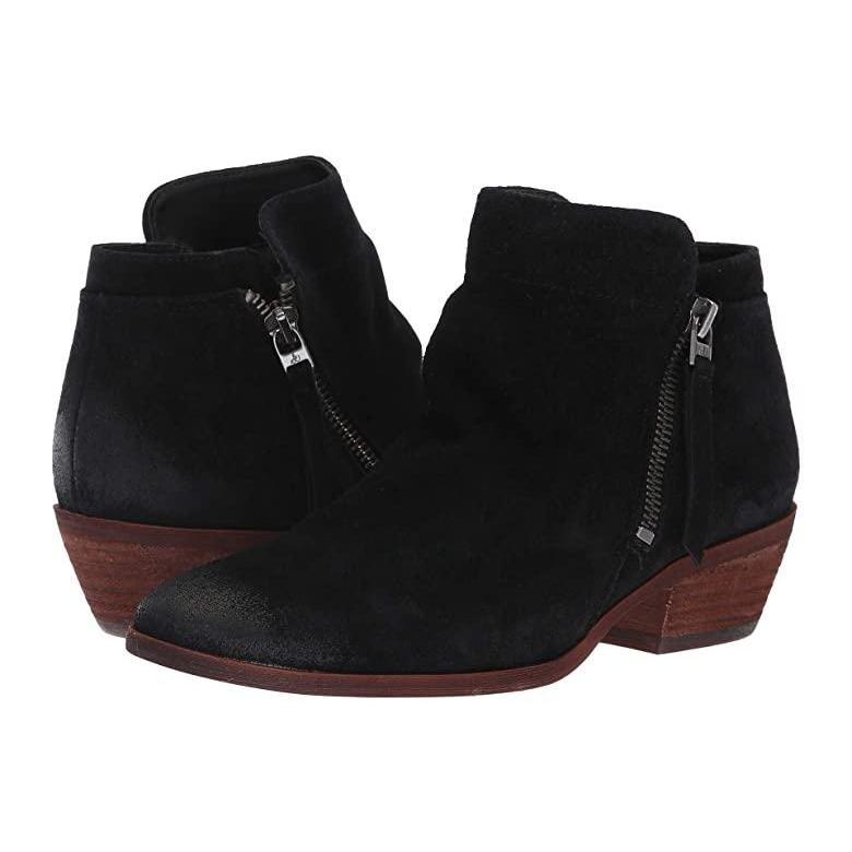 値引 サム エデルマン Sam Edelman Packer Edelman レディース Packer ブーツ Black Velutto ブーツ Suede Leather, キカイチョウ:f4b04ec7 --- fresh-beauty.com.au
