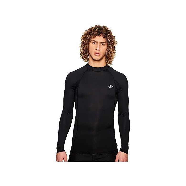 オニール O'Neill Premium Long Sleeve Rashguard メンズ 水着 海パン 黒u002F黒u002F黒
