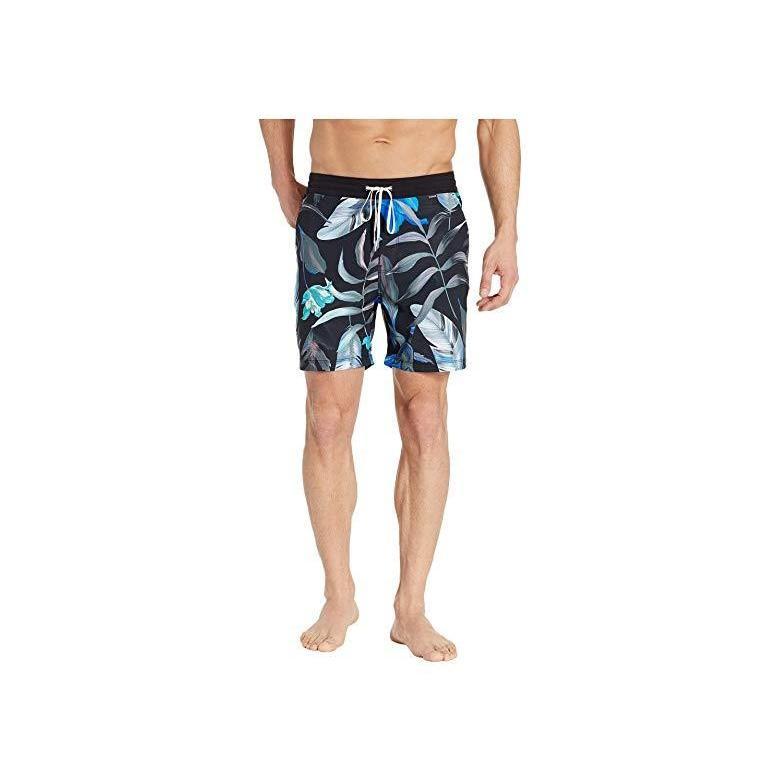 ハーレー Hurley 17 Fat Cap Volley メンズ 水着 海パン 黒