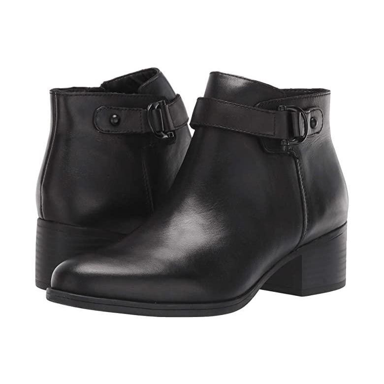 【あすつく】 ナチュラライザー レディース Naturalizer Drewe レディース ブーツ Leather ブーツ Black Leather, LALA STYLE(ララスタイル):95ee9990 --- fresh-beauty.com.au