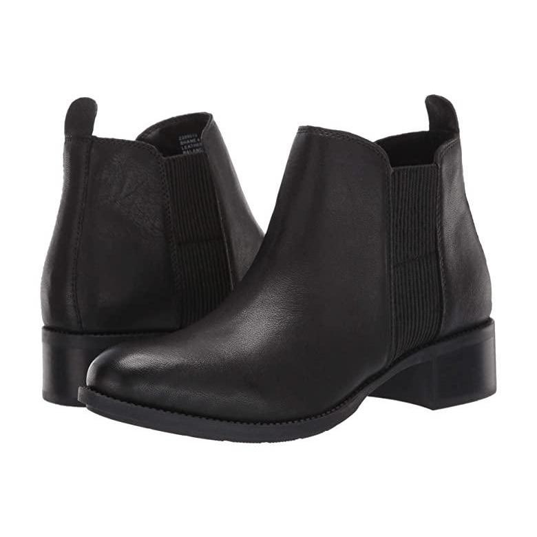 お待たせ! Me Too Me Too Shane レディース ブーツ Black Leather, 富岡町 dea5a82d