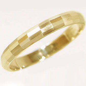 【正規品】 ゴールド 指輪 K10yg 結婚指輪 マリッジリング ペアリング ダイヤカット ペアリング K10yg 指輪, soraciel:502a58a7 --- airmodconsu.dominiotemporario.com