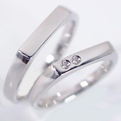 【★超目玉】 ダイヤモンド ホワイトゴールド 結婚指輪 マリッジリング ペアリング マリッジリング 結婚指輪 ペア 2本セット 2本セット K18wg 指輪 ダイヤ 0.02ct, 足助町:f8fc4f9a --- airmodconsu.dominiotemporario.com