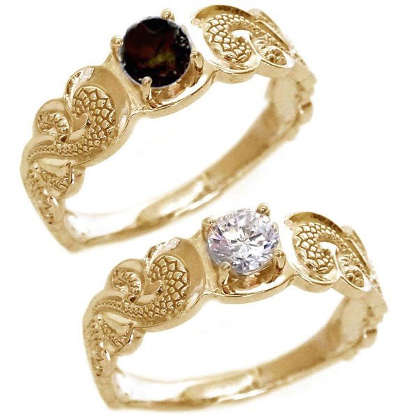 全ての ハワイアンジュエリー ダイヤモンド ペアリング 結婚指輪 2本セット ピンクゴールド 結婚指輪 マリッジリング カレイキニ SIクラス ダイヤモンド ブラックダイヤ K18pg カレイキニ, ブラジリアンビキニ下着 DEL SOL:dd3b7a09 --- sonpurmela.online
