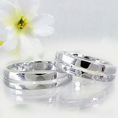 新発売 ダイヤモンド シルバー 結婚指輪 ペアリング 結婚指輪 ペアリング マリッジリング ペア 2本セット 指輪 ダイヤモンド ダイヤ 0.06ct, インテリアまつうら:2c229d99 --- airmodconsu.dominiotemporario.com