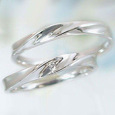 お歳暮 プラチナ ダイヤモンド ペアリング 結婚指輪 マリッジリング 2本セット Pt900 ダイヤ 0.01ct ストレート カップル, GirassoL 8a90c71f