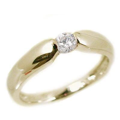 贅沢屋の 一粒 ダイヤモンド イエローゴールドk10 ピンキーリング k10 指輪 ダイヤ 0.07ct, ボードショップ BREAKOUT 681ba77c