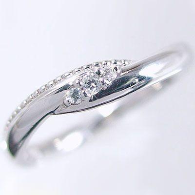 セール特価 指輪 ダイヤモンドリング ホワイトゴールドk10 ピンキーリングとしてもおすすめ ダイヤモンドリング 指輪 K10wg指輪ダイヤモンド 0.04ct 0.04ct, MRlab:9419ac23 --- taxreliefcentral.com