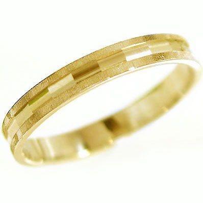 独特な店 ゴールド 結婚指輪 マリッジリング ダイヤカット ペアリング K10yg 指輪, 竹原市 a9fd803c