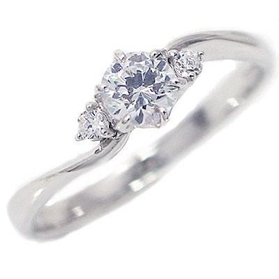 【新発売】 鑑定書付 ダイヤモンド プラチナ 婚約指輪 エンゲージリング ダイヤ 0.3ct E-VVS2-EX H&C 脇ダイヤ 0.04ct PT900, アットホームインテリア 500f886b