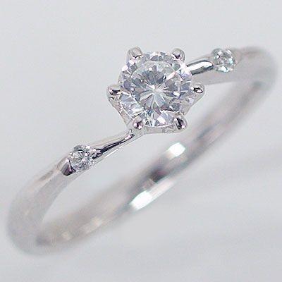 【日本製】 鑑定書付 プラチナ ダイヤモンド 婚約指輪 エンゲージリング ダイヤ 0.3ct D-VS1-EX 脇ダイヤ 0.03ct PT900 指輪, ワイン紀行 628e016c