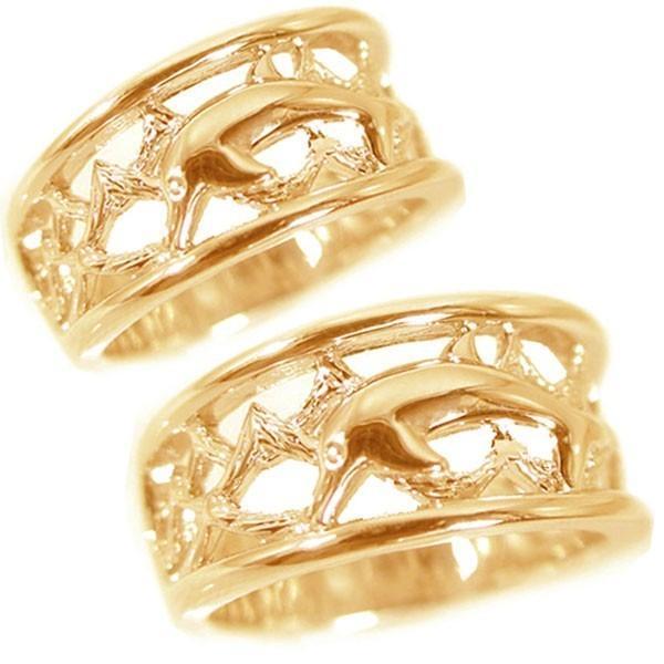 人気ショップ 結婚指輪 マリッジリング ペアリング ピンクゴールドk10 2本セット K10pg ドルフィン, 弥富町 31c78685
