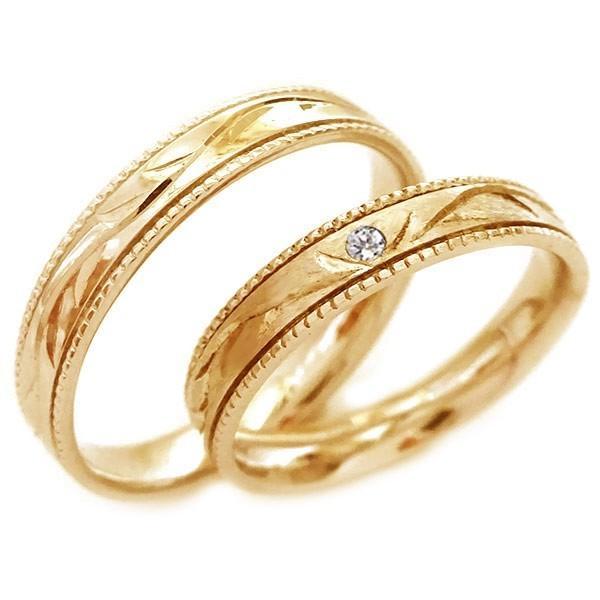 【大特価!!】 ピンクゴールド ピンクゴールド ダイヤモンド 結婚指輪 ペアリング マリッジリング 2本セット K18pg 2本セット 指輪 ダイヤ ストレート ストレート カップル, スミノエク:a6c73c67 --- airmodconsu.dominiotemporario.com