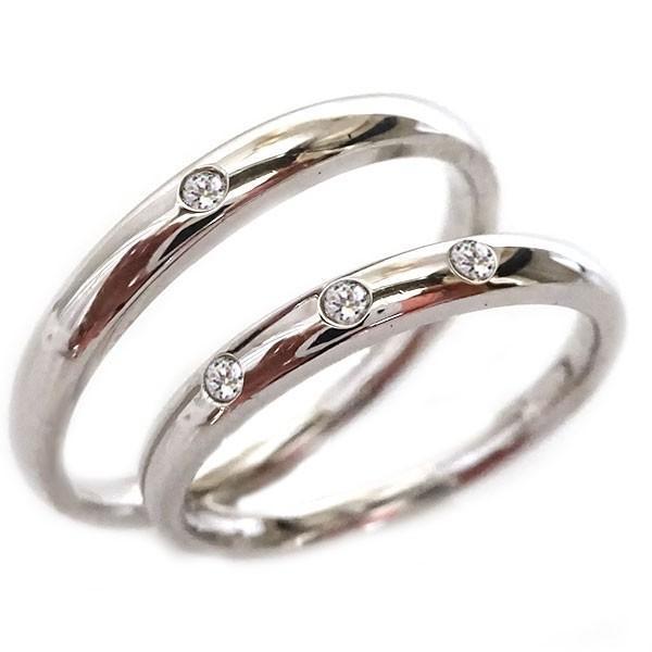 大特価 シルバー 結婚指輪 マリッジリング ペアリング ダイヤモンド ペア2本セット SV925 ダイヤ ストレート, 釧路市 d55c6412