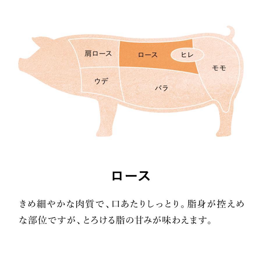 豚肉 花悠ロース厚切り(極厚20mm) 2枚入り|maampig|02