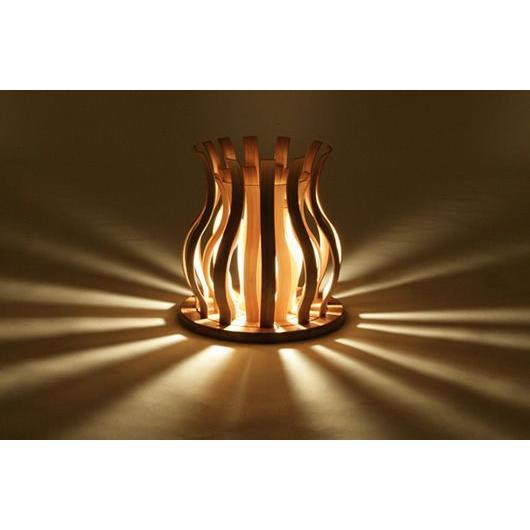 竹集成材の照明 Suiren TEORI