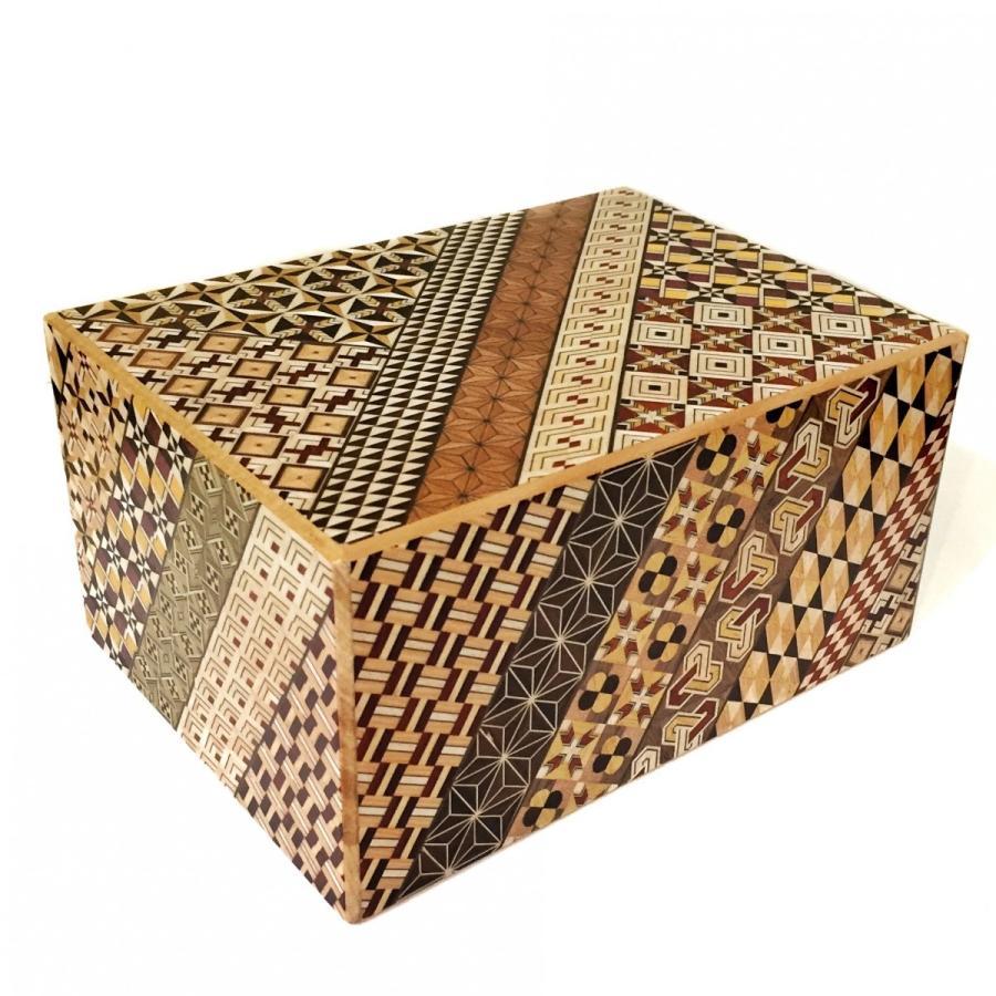 箱根寄木細工 特大秘密箱 7寸72回+1