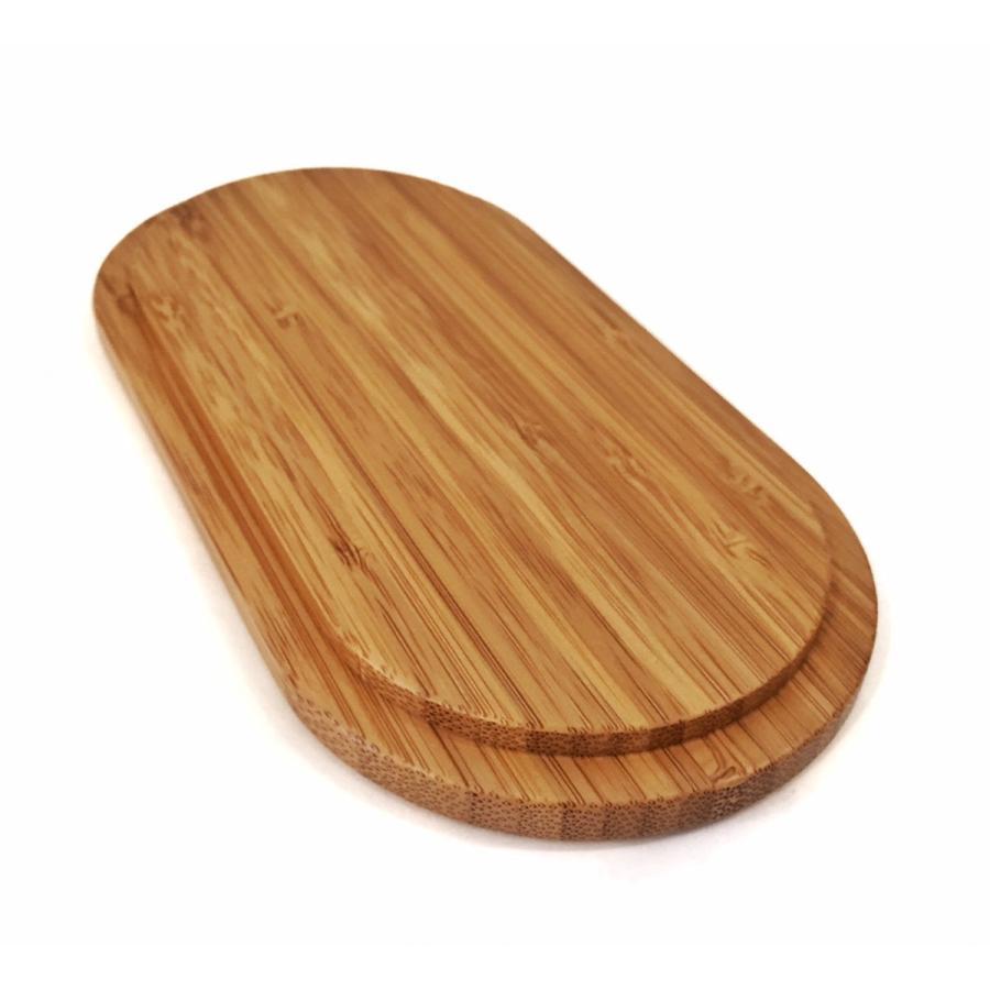 竹製の楕円形二段弁当箱|maaoyama|05