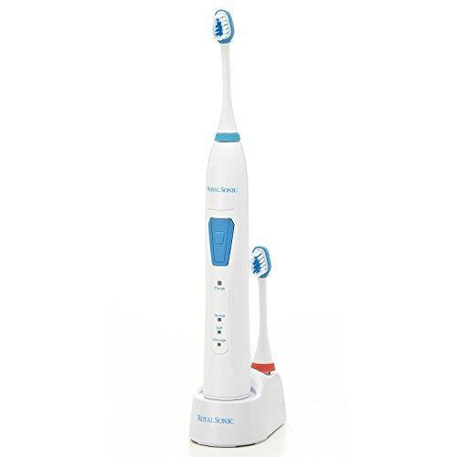 歯ブラシ 電動 音波 ロイヤルソニック1 充電式 振動 歯ブラシ 口臭ケア 充電式 歯磨き 歯みがきらし ハブラシ 口内 ヤニ 黄ばみ ホワイトニング|maby