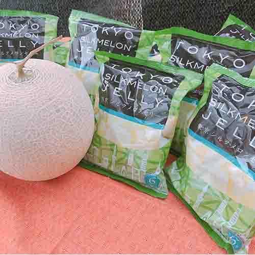 東京シルクメロンゼリー12袋(1袋6個入り) machida-melon