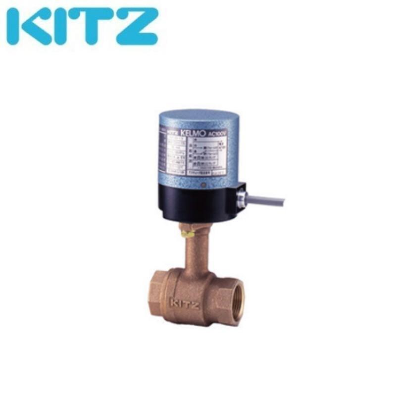 KITZ EA100-TLE 32A 電動式ボールバルブ